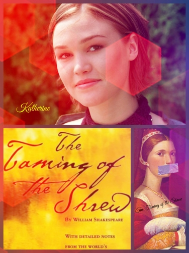 the evolution of the character of katherine in the novel the taming of the shrew by william shakespe Writer discuss the evolution of his character  this 6 page paper discusses the character of prospero in william shakespeare's  taming of the shrew:.